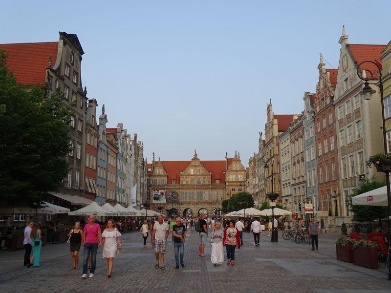 gdansk calle principal