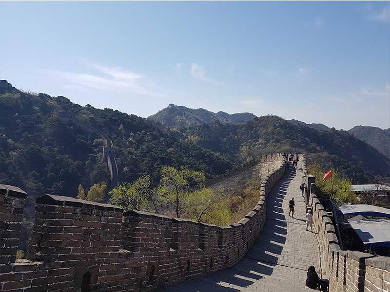 La Gran Muralla China en Mutianyu