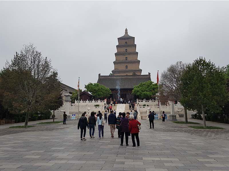La Gran Pagoda del Ganso Salvaje