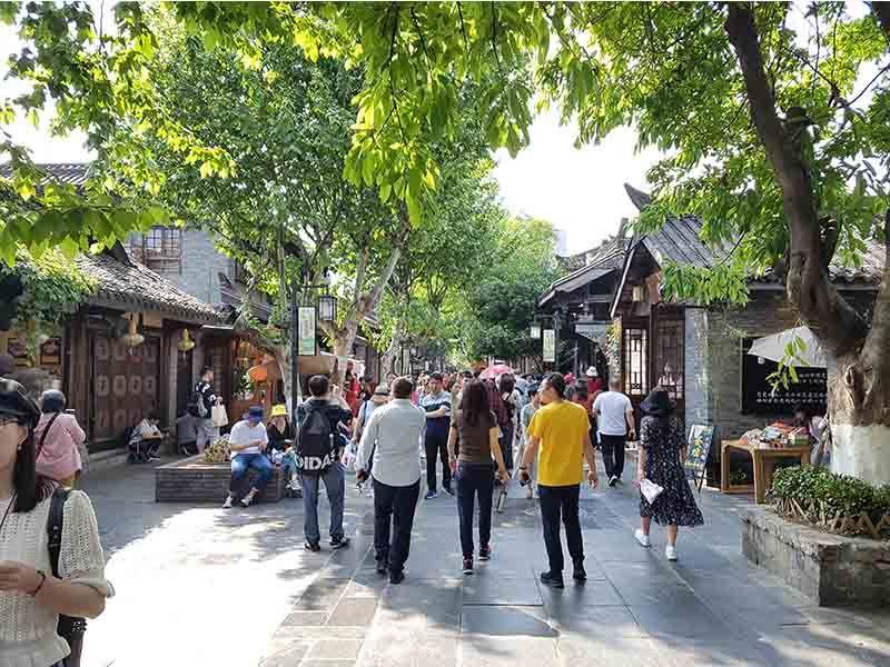 Kuan Alley y Zhai Alley