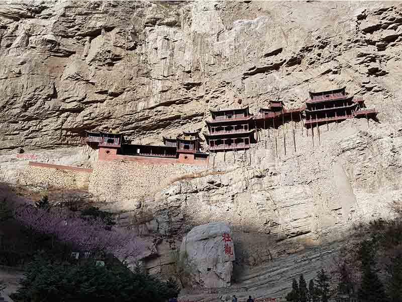 Monasterio colgante de Hanging