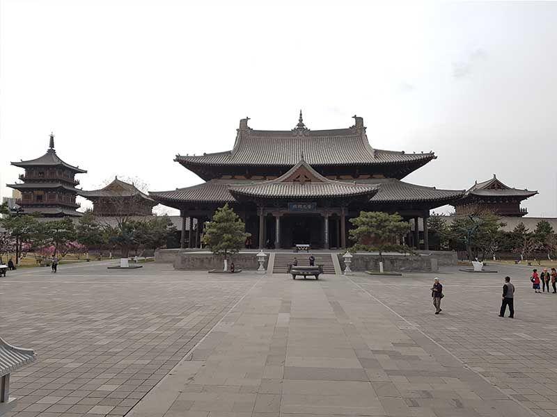 Monasterio de Huayan, en Datong