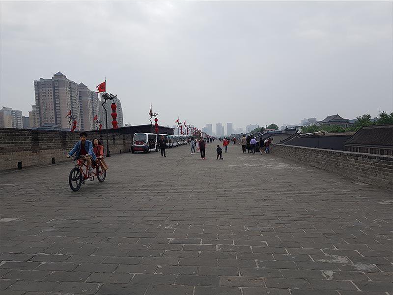 Muralla de Xian, al sur