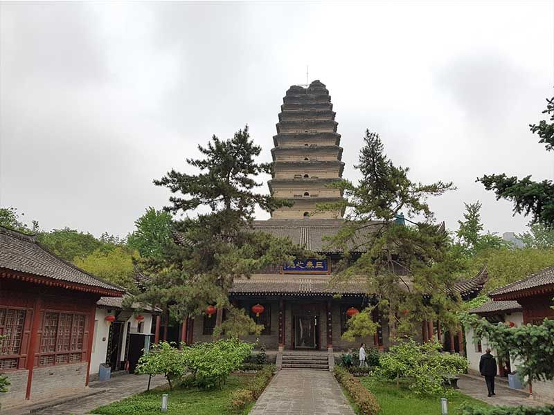 La Pagoda pequeña de Xian