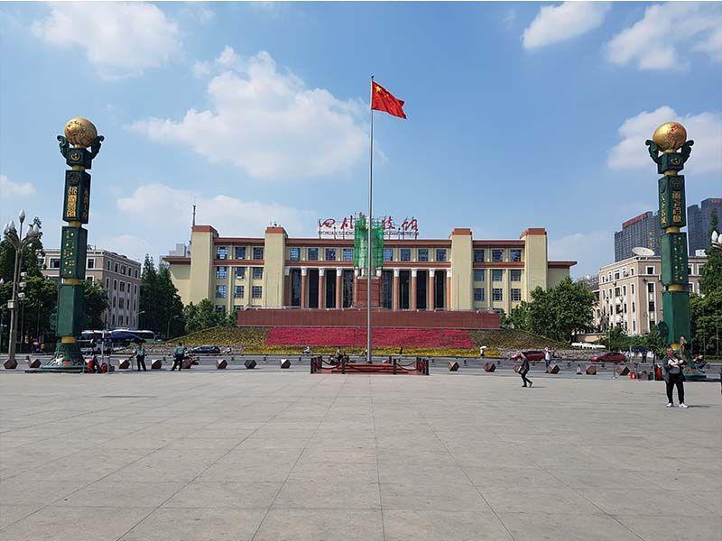 Plaza Tianfu, lugar que ver en Chengdu en un día