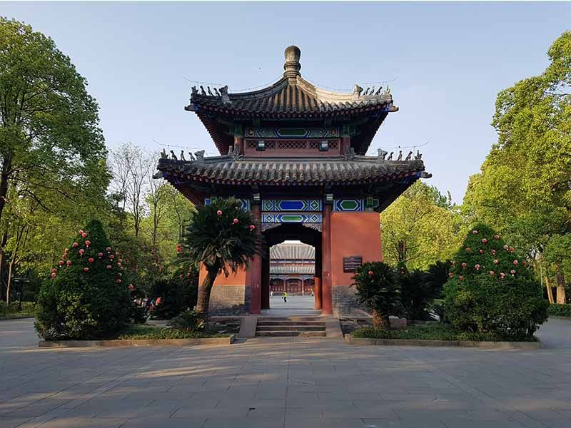 Templo Memorial Wu Hou, sitio para visitar en Chengdu en un día