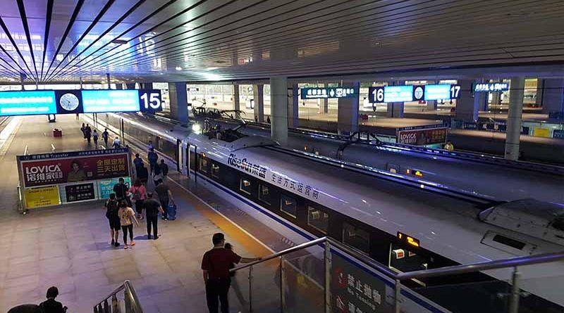 Tren de Chengdu a Leshán