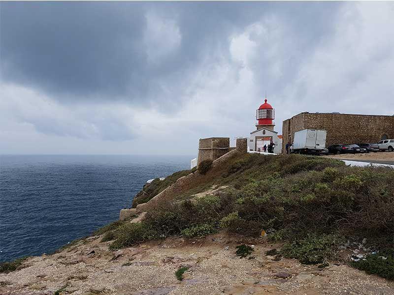 Cabo de San Vicente, en el Algarve