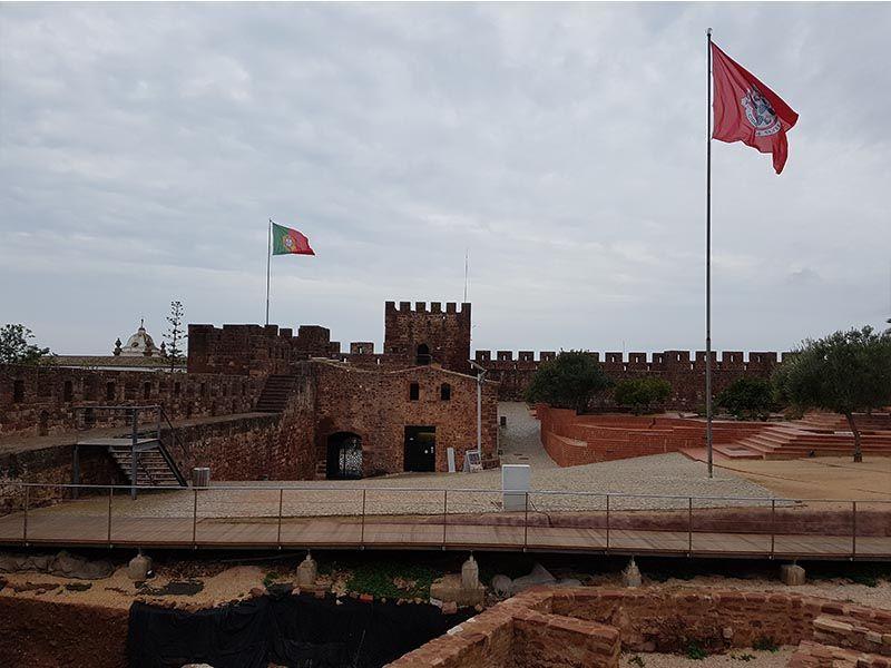 Castillo de Silves, sitio que ver en el Algarve en un fin de semana