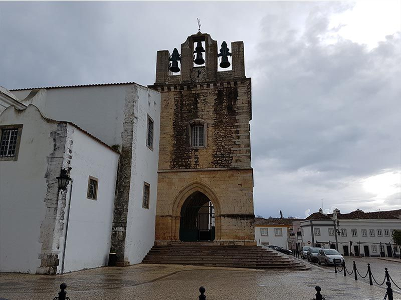 Catedral de Faro, la capital del Algarve