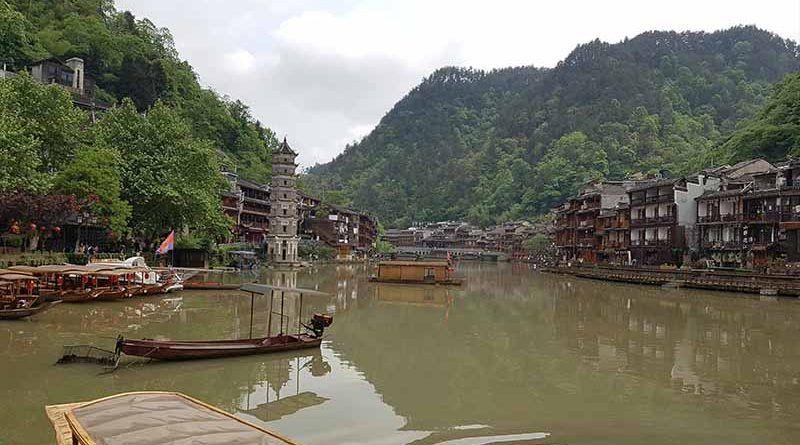 Fenghuang, una antigua ciudad de China