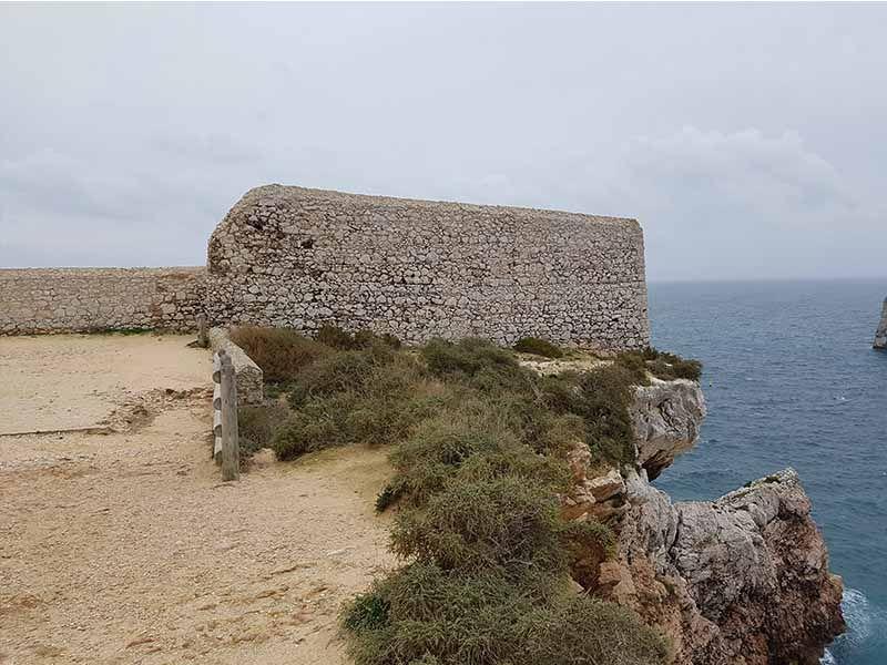Fortaleza de Beliche, en Sagres