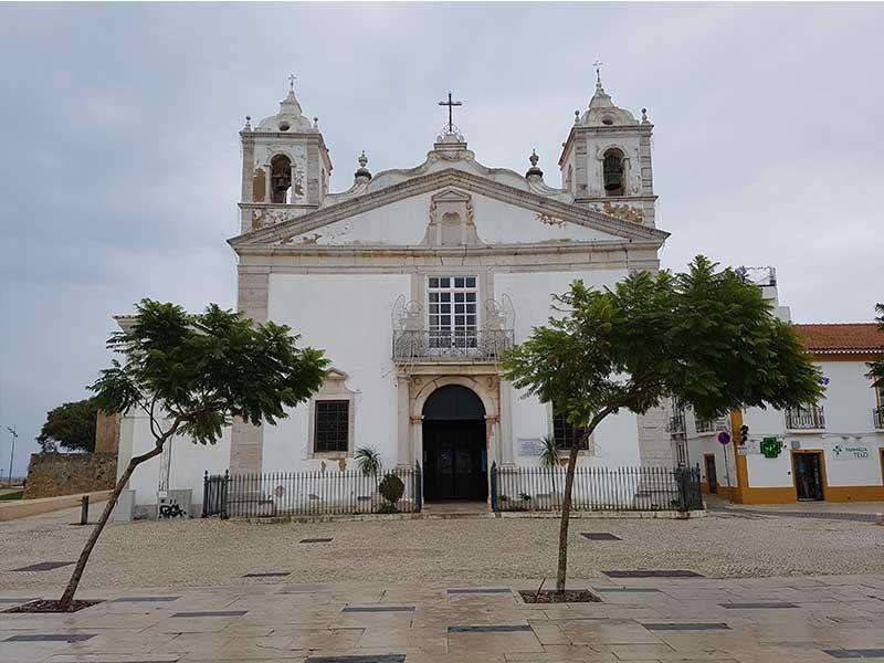 Iglesia de Santa María, en Lagos