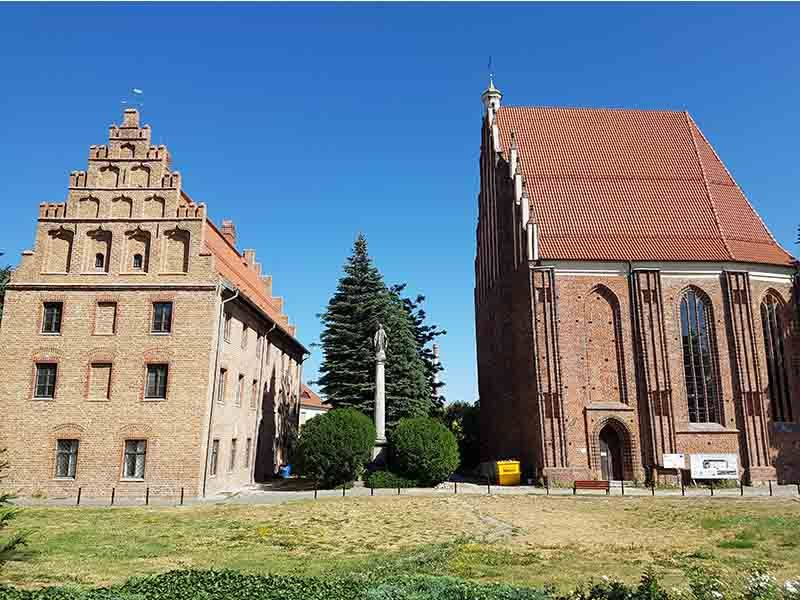Iglesia de la Virgen María, donde nació Polonia