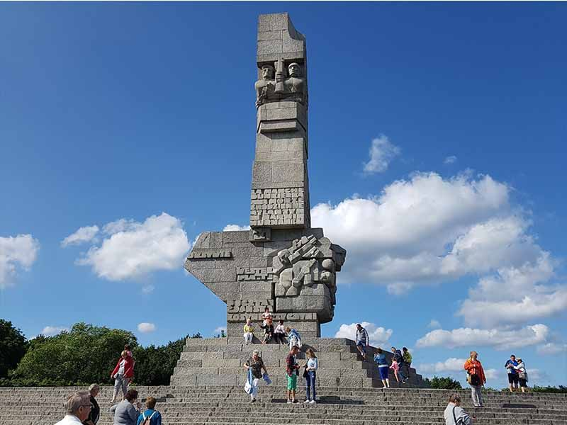 Monumento en Westerplatte