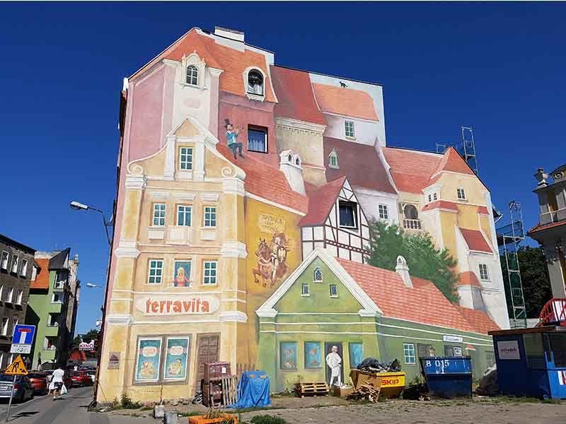 El mural de Poznan