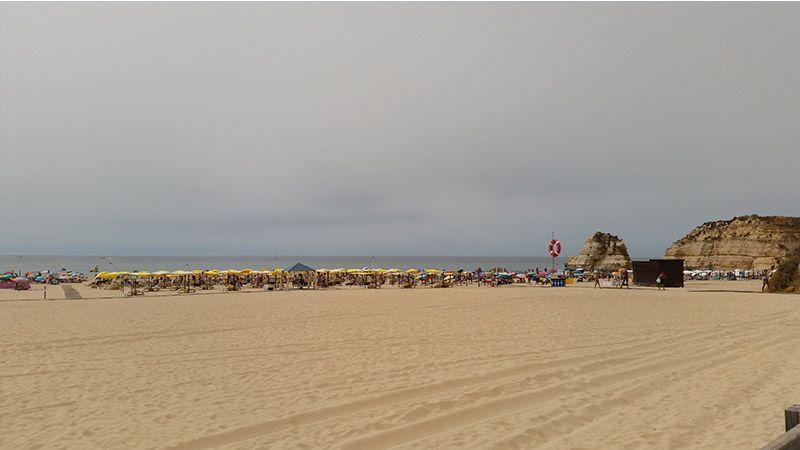 Praia da Rocah, en Portimão