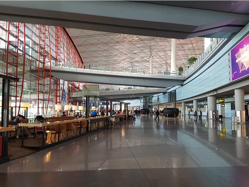 Aeropuerto de Pekín, un lugar donde cambiar moneda en China