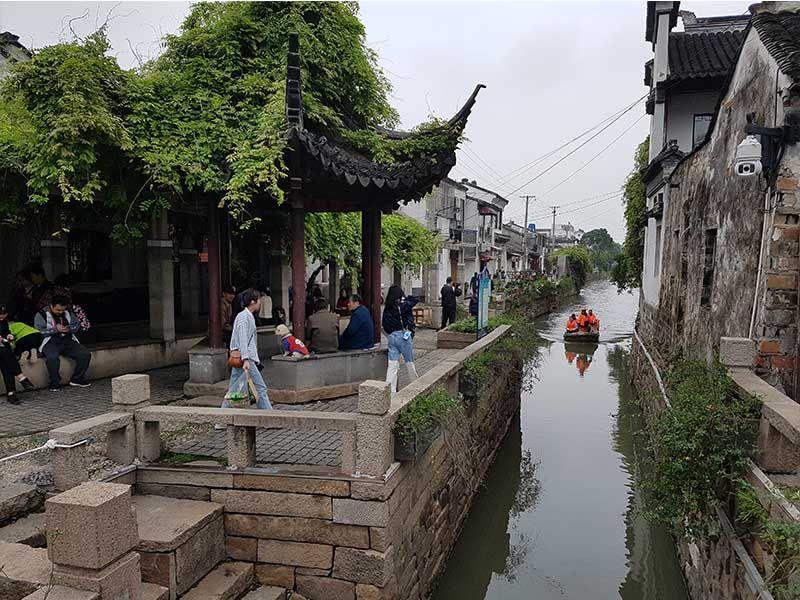 Calle Pingjiang y los canales de Suzhou