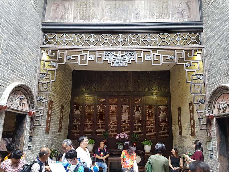 Interior de la casa de Lou Kau