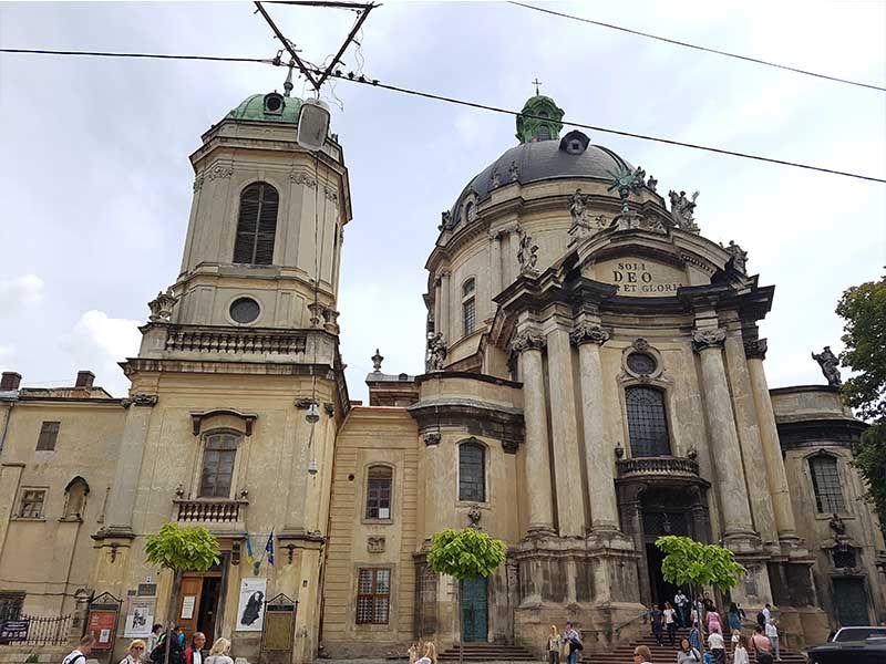 Catedral Dominicana en Ucrania