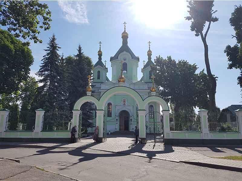 La catedral ortodoxa de San Simón