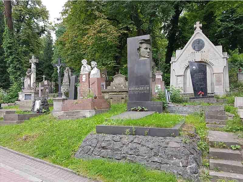 Cementerio de Lychakivskiy