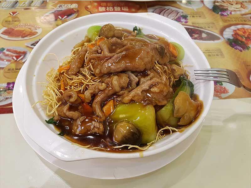 Comida en Hong Kong