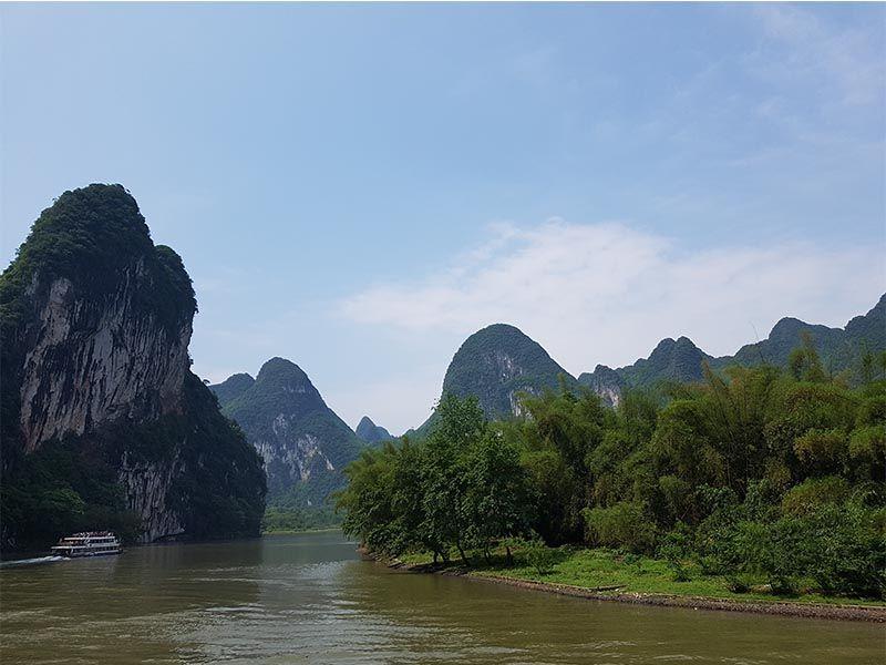 Crucero por el río Li de Guilin a Yangshuo
