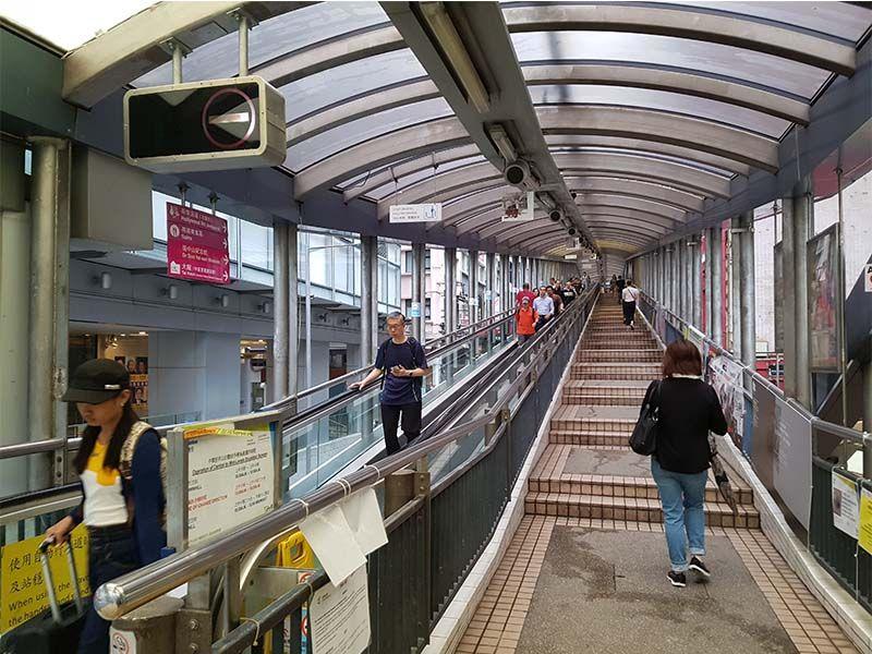 Escaleras mecánicas de Hong Kong