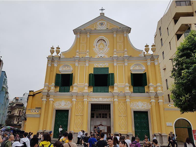 Iglesia de Santo Domingo, la más antigua de Macao