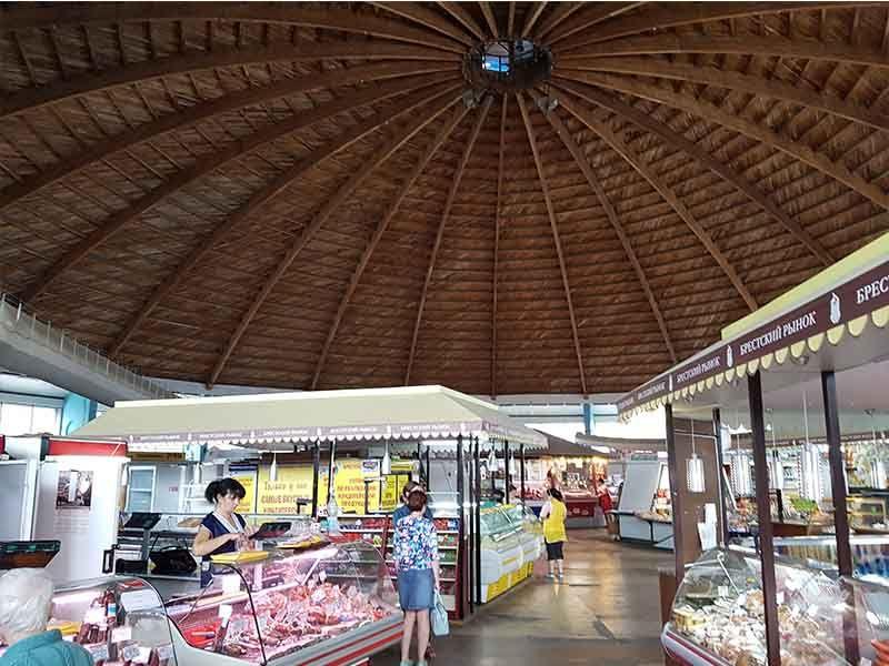 Interior del mercado central