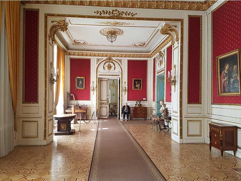 Interior del palacio de Potocki