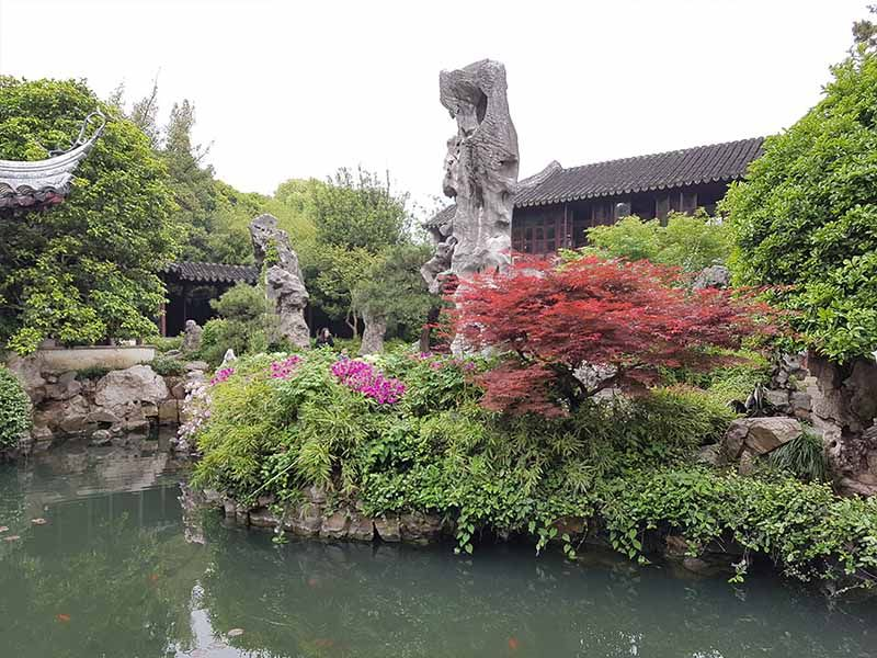 Jardín de Liu Yuan, uno que ver en Suzhou