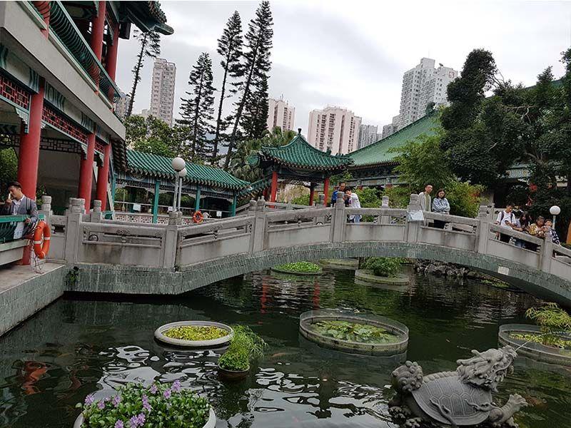 Jardín de Wong Tai Sin