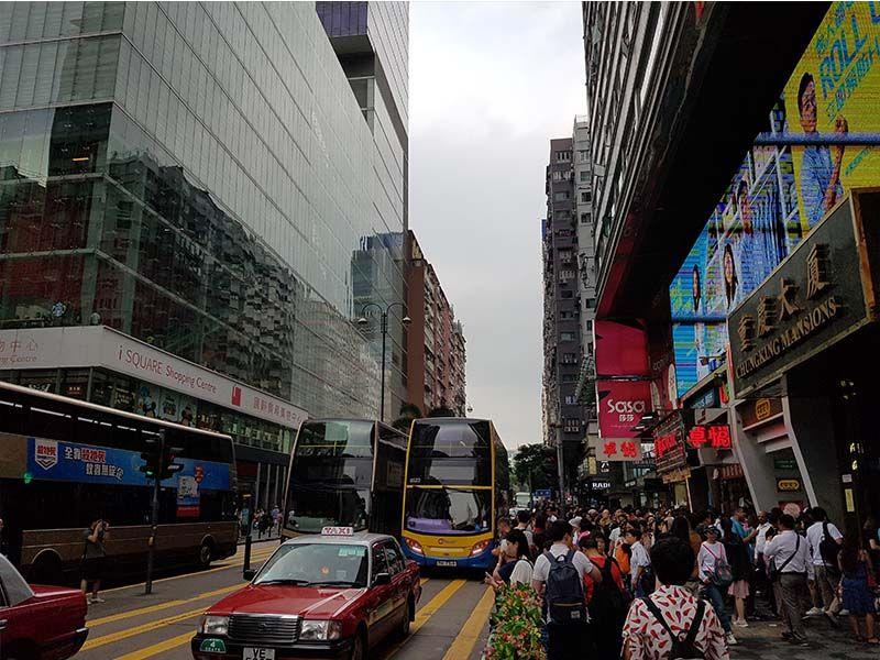 Zona de Kowloon, el corazón de Hong Kong