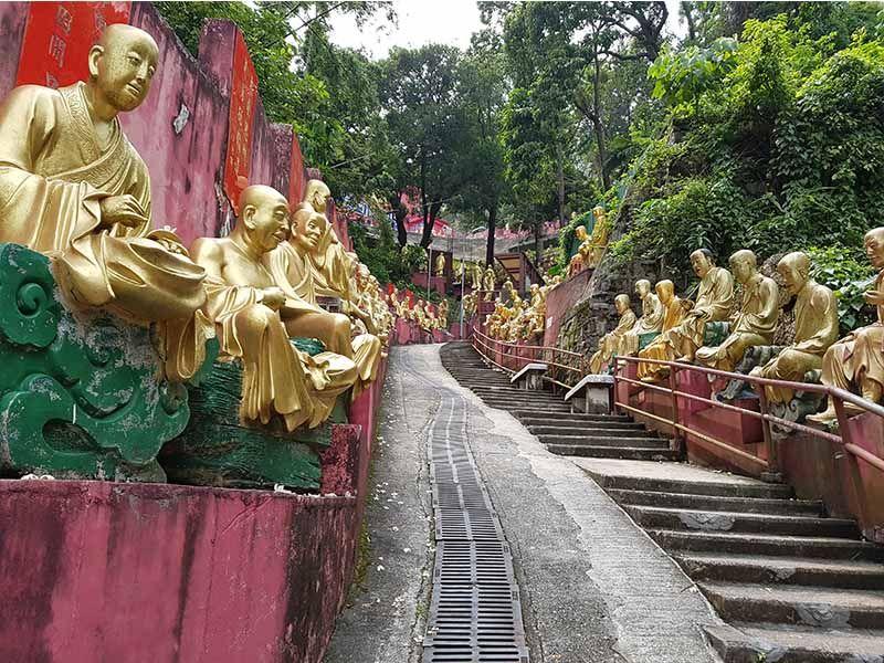 Monasterio de los Diez Mil Budas de Hong Kong