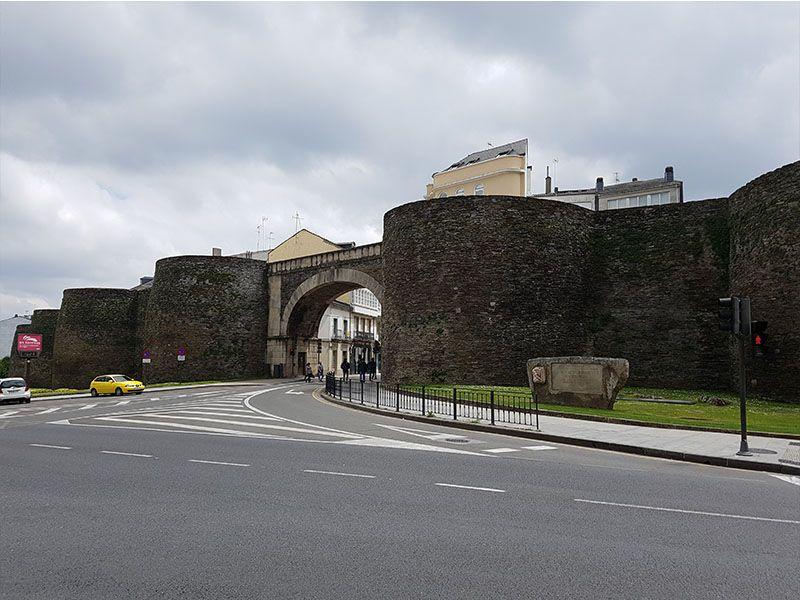 Parte de la muralla de Lugo