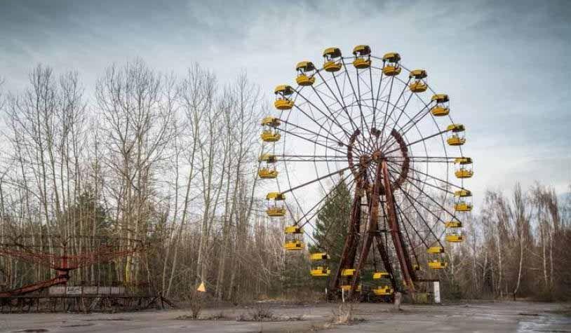 Noria de Pripyat, en Chernobyl
