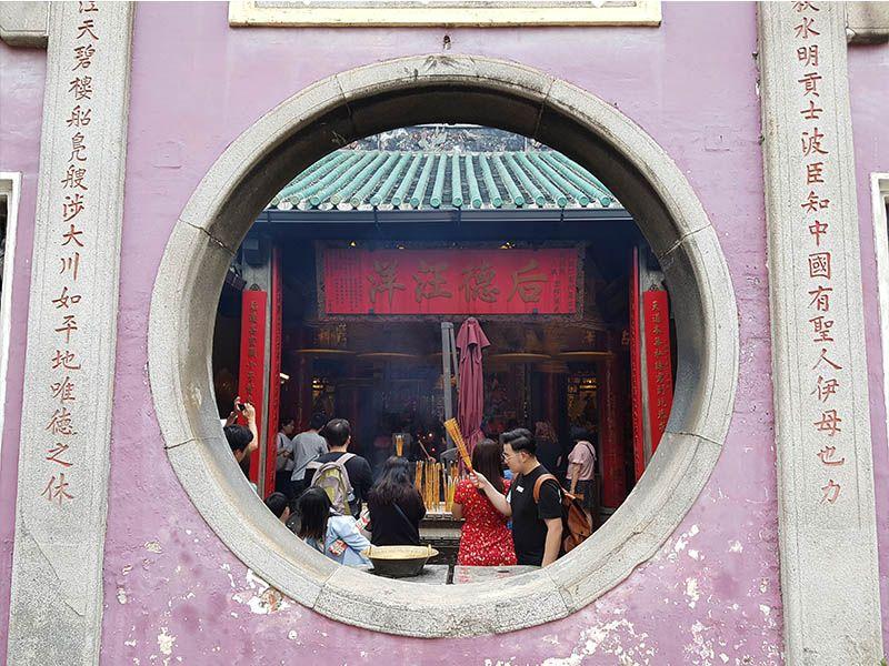El templo de A-Má no puede faltar en una visita de un día a Macao