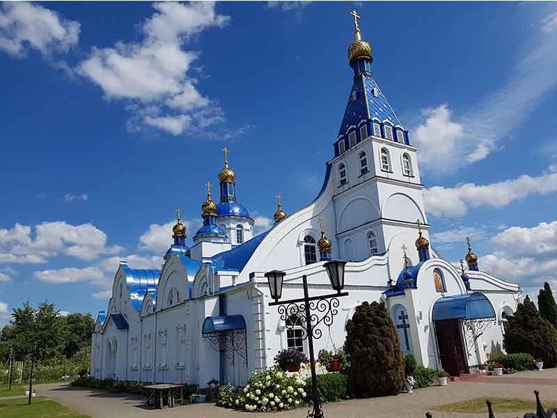Templo en Honor del Icono Tikhvin de Nuestra Señora de Brest