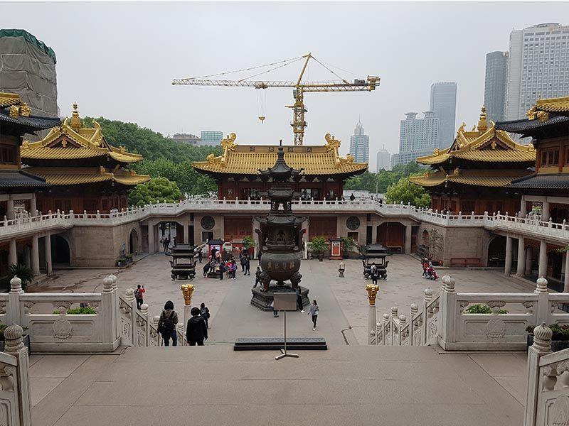 Templo Jing'an, el más antiguo de Shanghái