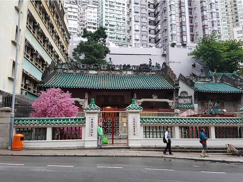 Templo Man Mo de Hong Kong