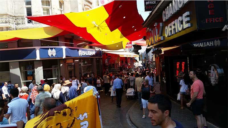 Tienda donde cambiar moneda en Estambul