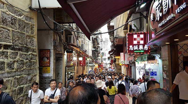 Zona donde cambiar moneda en Macao