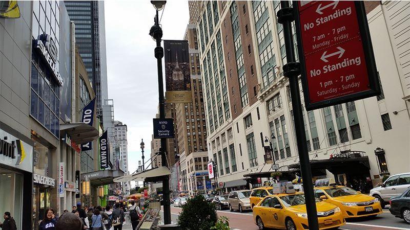 Zona centro, un lugar donde cambiar moneda en Nueva York
