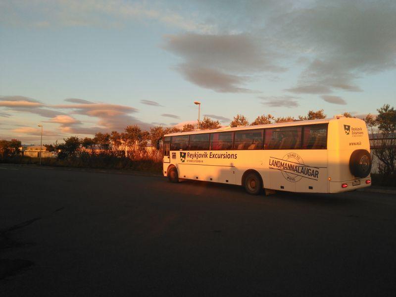 autobús landmannalaugar