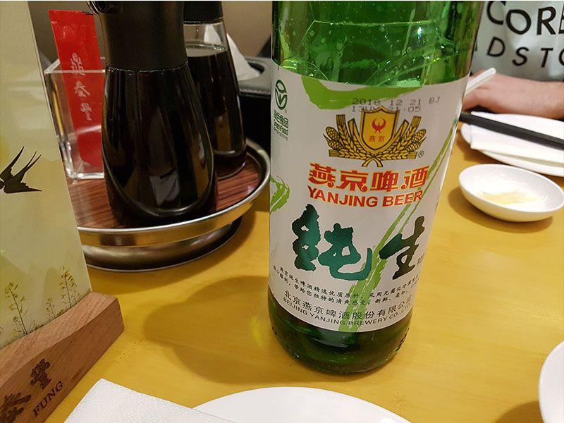 Una de las peores cosas de China es la cerveza