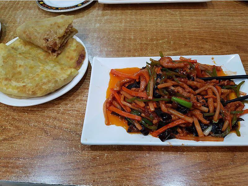 Una de las mejores cosas de China es la comida