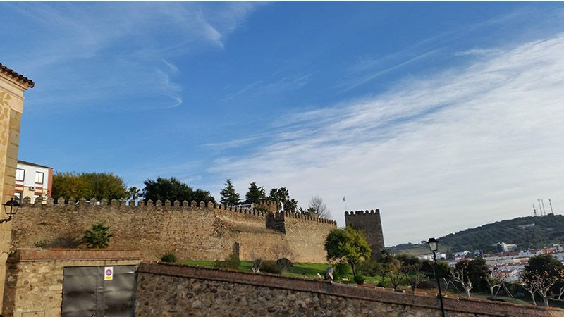 Fortaleza árabe de Jerez de los Caballeros